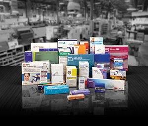 Cartons for the medical and pharmaceutical industries
